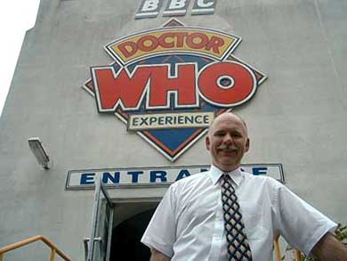 George Smith, Manager at the Dr Who Experience
