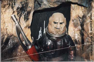 It's a Sontaran from The Two Doctors