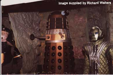 Trooper, Dalek & Voc from 1984