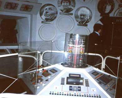 The console room in 1987