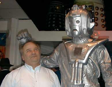 David Boyle feels the wrath of The Cybermen